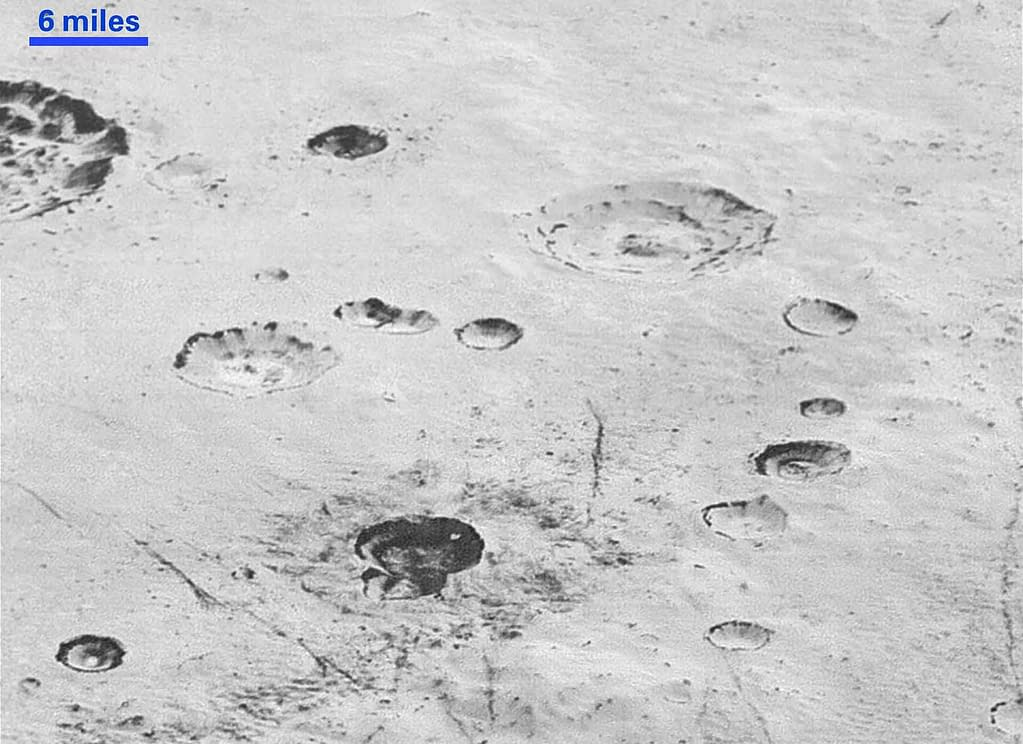 This highest resolution image from NASA's New Horizons spacecraft