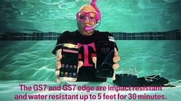 Samsung Galaxy S7 Unboxing Video By T-Mobile Under Water