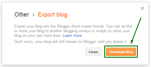 download blog posts