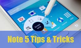 Samsung Galaxy Note 5 Tips n Tricks