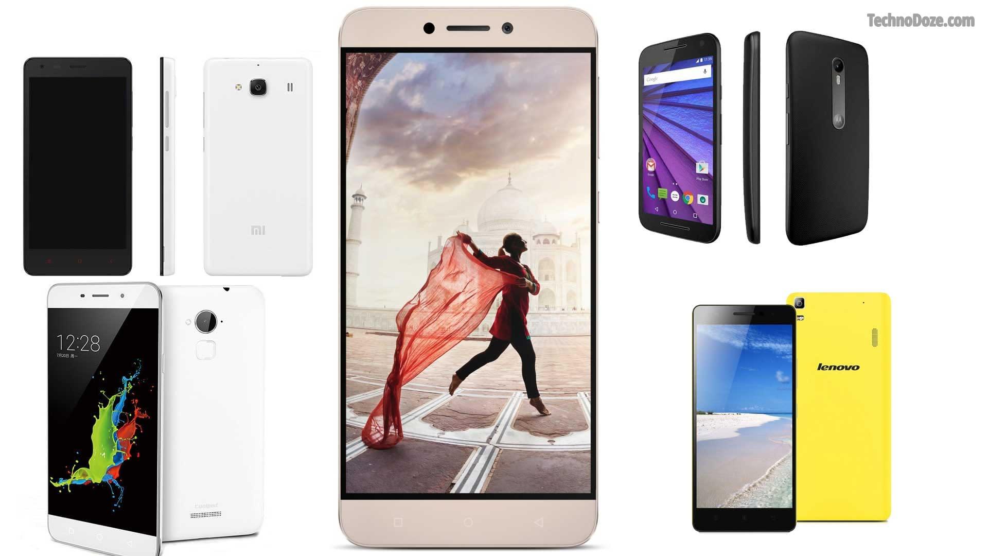 5 Smartphones Under 10000 Rs in India: 2016