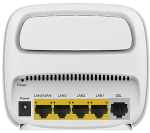 A typical router with IPTV support
